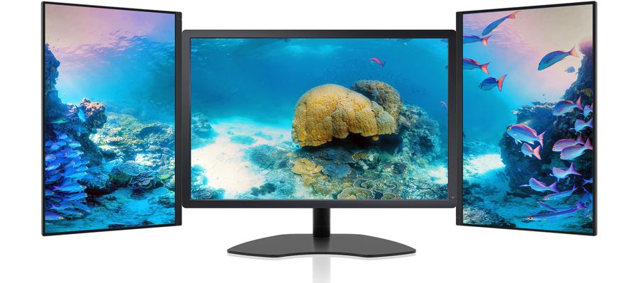 zenview powertrio 30 xl top of line triple screen professional
