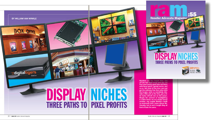 Reseller Advocate: Cover story featuring Digital Tigers Zenview Command Center Elite